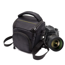Зеркальные Камера сумка Outdoor Photography сумка Мягкий видео чехол для Nikon D750 D3300 D5300 D5500 D7100 D7200 B700 плеча Сумка