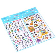 2pcs/lot Cute Panda 3D Bubble Sticker Decoration Decal DIY Diary Album Scrapbooking Kawaii Stationery Post It Sticker Toy
