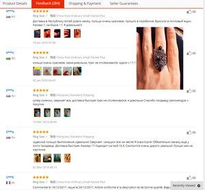 Image 5 - Ajojewel Juego de joyas Vintage para mujer, collar de flores huecas de cristal negro, pendientes, anillo, joyería