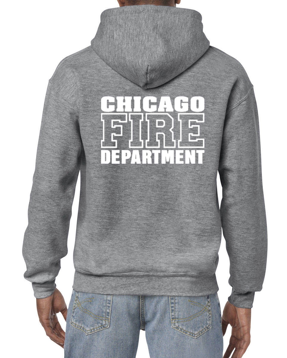 Hot Sale Men Fashion Chicago Fire Department Custom Men S Black