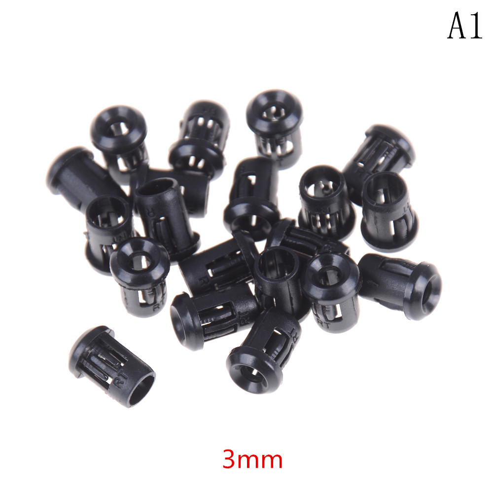 20pcs X 3mm 5mm 8mm 10mm Black Plastic Led Holder Case Cup Mounting For F3 F5 F8 F10 Light-emitting Diode In Many Styles Back To Search Resultselectronic Components & Supplies Active Components