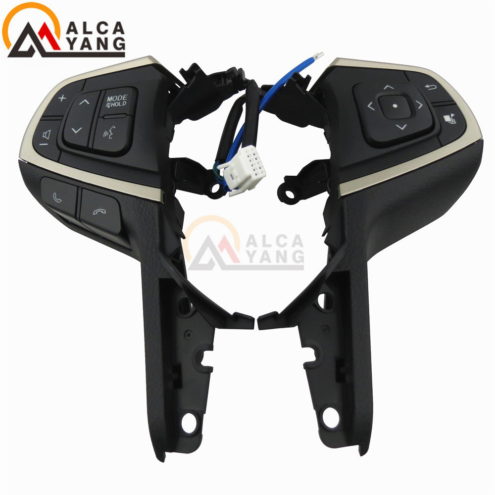 Free shipping For Toyota Innova Multi function Steering Wheel Cruise Control Buttons Switch