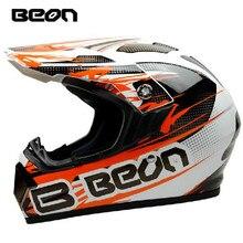 Envío Libre Cruz DOT ECE aprobado casco de la Moto Off Road casco de La Motocicleta Beon casco M L X disponibles