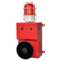 YS 300M 130dB Sound And Light Alarm Siren Safety Alarm Industrial Alarm Kit Flashing Light Mergency