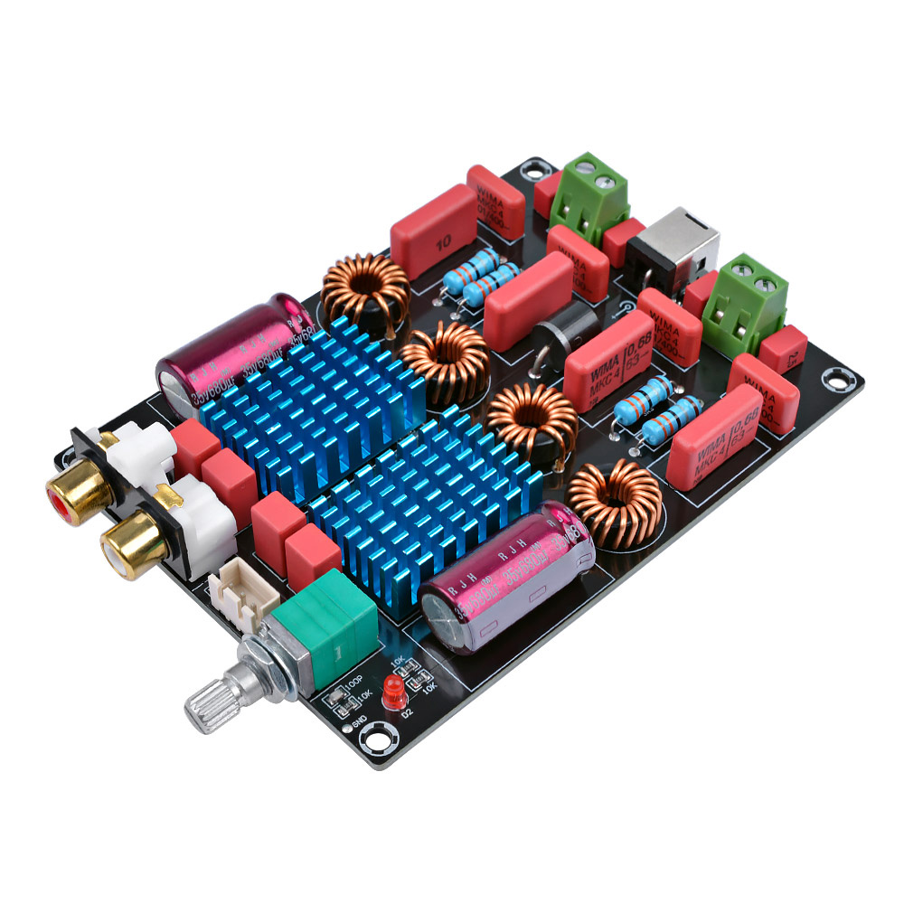 aiyima tpa3116 2 0 dual chip power amplifier mini digital audio amplifier board class d stereo. Black Bedroom Furniture Sets. Home Design Ideas