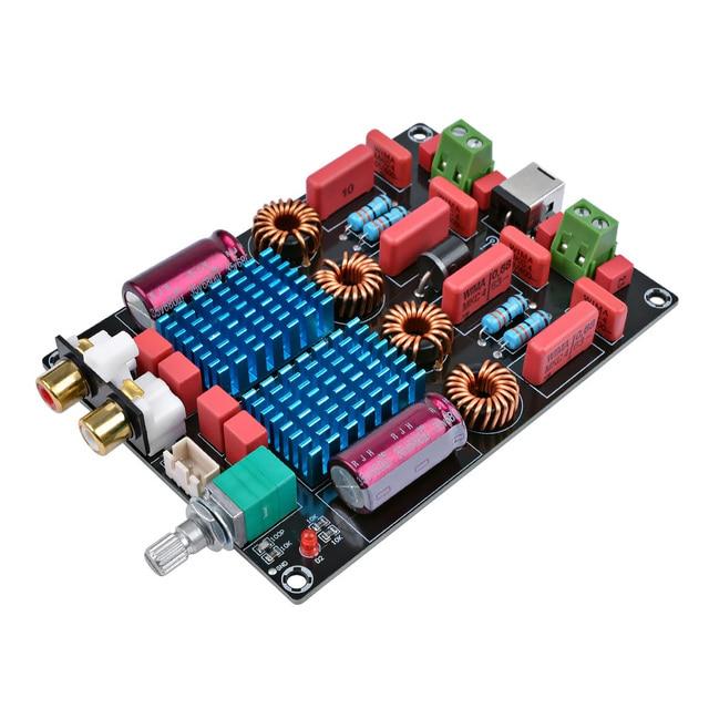 AIYIMA TPA3116 2.0 المزدوج رقاقة مكبر كهربائي البسيطة الرقمية مضخم الصوت مجلس الفئة D ستيريو أمبير 100 W + 100 W ل مسرح منزلي