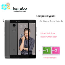 Kairubo Screen Protector for Xiaomi Redmi Note 4 Global Version Tempered Glass Screen Protective Film for Xiaomi Redmi Note 4X цена и фото