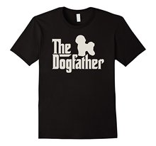 The Dogfather Bichon Frise Funny Dog Owner Shirt MenS Short Sleeve T Cotton New Men Summer Tops Casuals T-Shirts