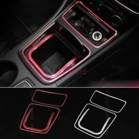 Accessories For Mercedes Benz AMG GLA 260 CLA A200 W176 C117 W117 X156 Storage Box Cover Ashtray Trim Chrome Car Styling