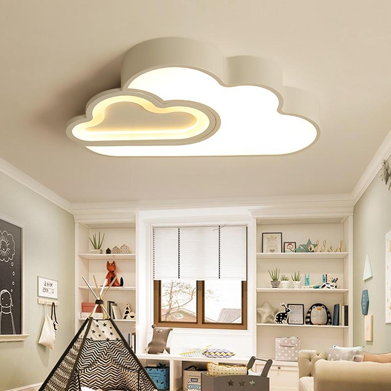LED Nube camera dei bambini dei bambini di illuminazione a soffitto lampada Del Bambino della luce di soffitto con Regolazione per le ragazze dei ragazzi camera da letto Lampada Da Soffitto A led - 2
