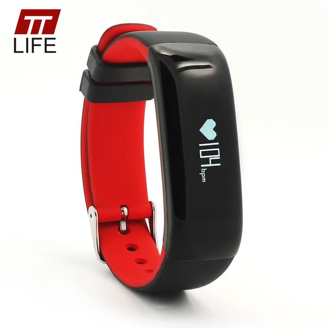 P1 TTLIFE Alta Calidad Bluetooth 4.0 Pulsera Inteligente Monitor de Presión Arterial Portátil Pulsómetro Pulsera Inteligente Para El Teléfono