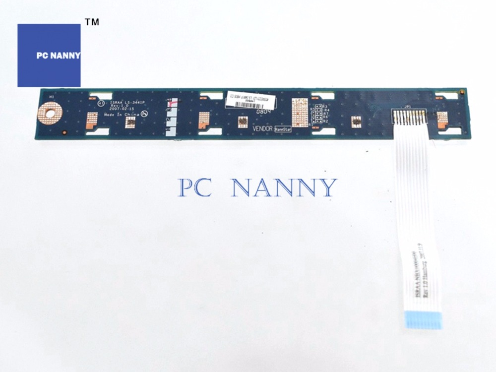 Pc Nanny Buy Original For Dell V3560 Power Switch Button On Off Board & Cable Ls-8255p Works Computer & Office