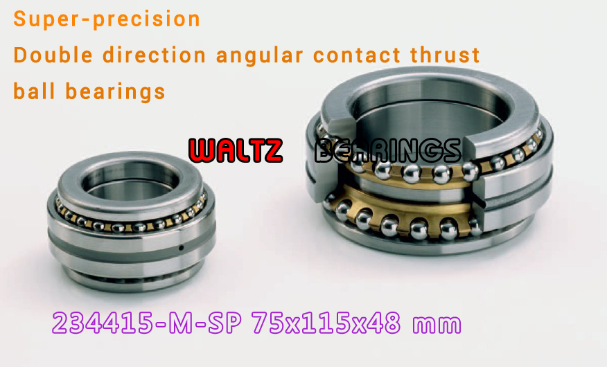 234415 M-SP BTW 75 CM/SP 562015 2268115 Double Direction Angular Contact Thrust Ball Bearings Super-precision ABEC 7 ABEC 9 234408 m sp btw 40 cm sp 562008 2268108 double direction angular contact thrust ball bearings super precision abec 7 abec 9