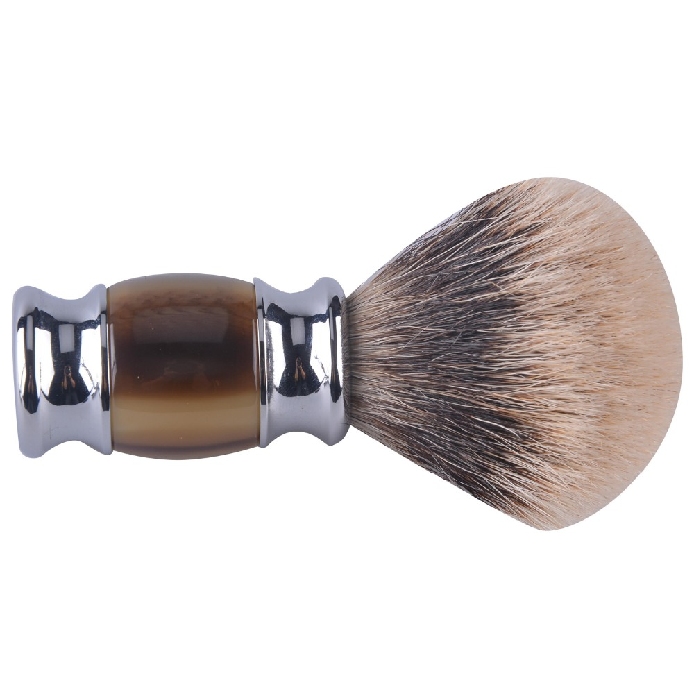 Luxury shaving brush two band badger hair super best hair finest badger hair shaving brush