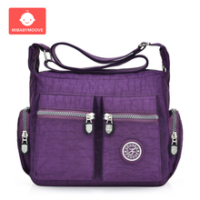 Baby Diaper Bag Multifunction Mother Maternity Nursing Shoulder Bags Fashion New Zipper Waterproof Nylon Womens Crossbody