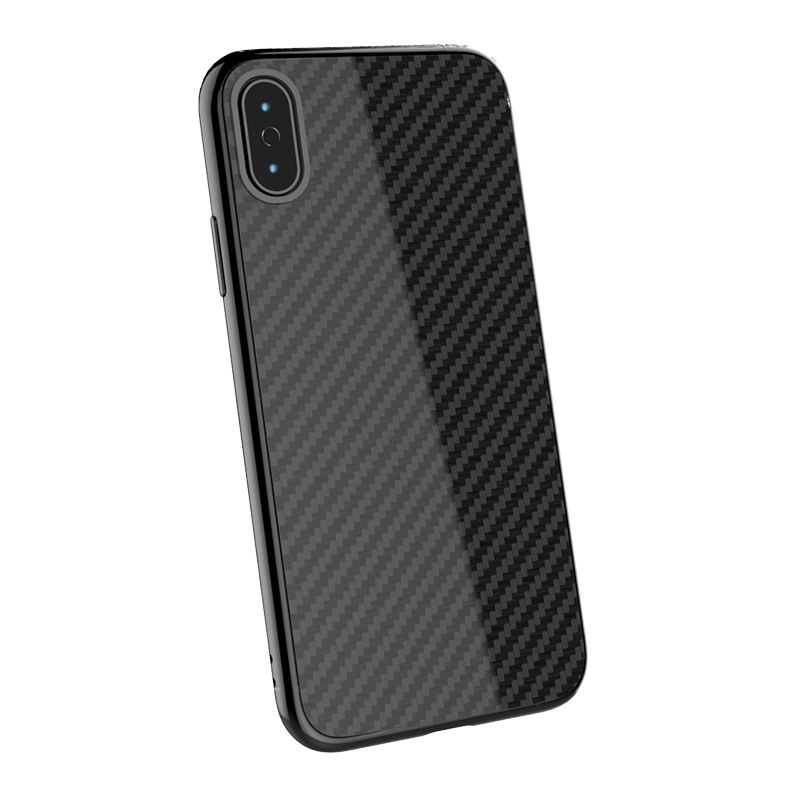 For iPhone XS Max Phone Shell Ultra Thin Real Carbon Fiber Case Cover Cover Casing For