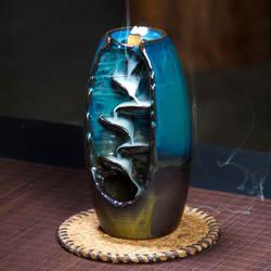 3 цвета курильница для благовоний горелка Керамическая Печь для ароматерапии лотоса Запах ароматических Офис Ладан ремесел Ладан