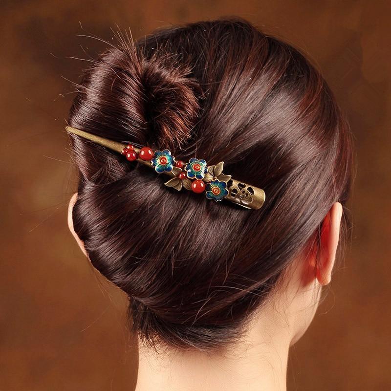 Fashion Wedding Bridal Hair Accessories Hair Sticks For Women Handmade Hairpins Hair Ornaments Tiara Vintage Hairwear все цены
