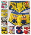 O envio gratuito de 10 pçs/lote alta qualidade 100% algodão cartoon dos homens do pugilista/homens underwear (misturar 23 estilos) lovely & sexy