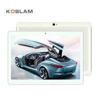 KOSLAM 10.1 Inch Android 7.0 Tablet PC Phablet Quad Core 2 GB RAM 16 GB ROM 10.1