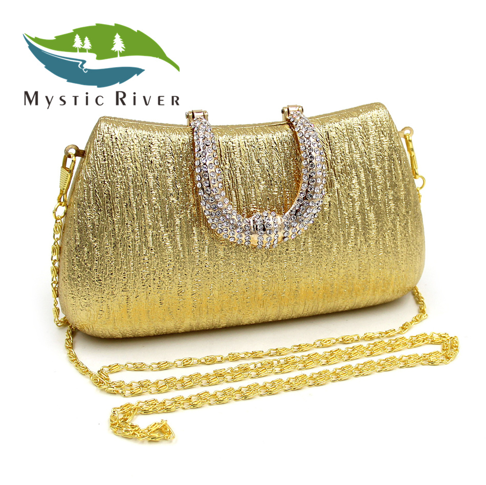 Mystic River Women Fashion Clutch Ladies Purses Pochette Soiree Party Clutches With Chain soiree entertaining with style
