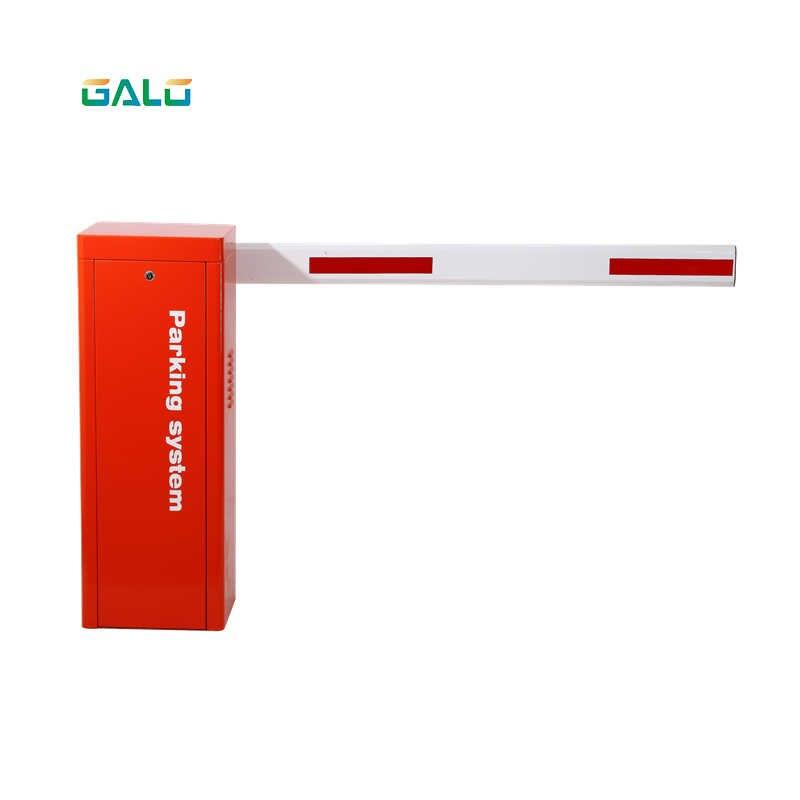 Fabricante de puerta automática de tráfico de barrera de coche para estacionamiento con lector y tarjeta UHF