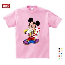 2019 Kids Cartoon Mickey Children's T Shirts Mouse Short Sleeve T-shirt Donald Baby/Boy/Girl t shirt summer O-Neck tee shirt donald weis t t solo rules