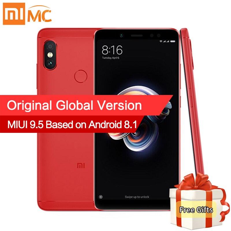 Глобальная версия Xiaomi Redmi Note 5 3 ГБ 32 ГБ Snapdragon 636 Octa Core 5,99 18:9 полный Экран двойной камера 4000 мАч Note5 смартфон