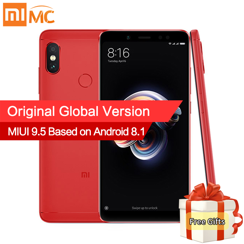 Versión Global Xiaomi Redmi Nota 5 3 GB 32 GB Snapdragon 636 Octa Core 5,99