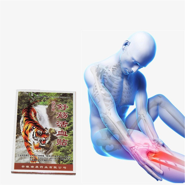 Tiger Essential oil Eczema Psoriasis Medical Plaster Patches Of Pain - essential oil for psoriasis
