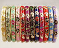 Wholesale10pcs Stunning Floral Handmade Popular Cloisonne Enamel Cuff Bracelet