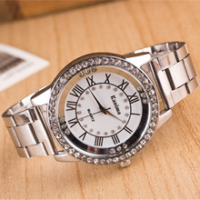 2017 Luxury Brand Gold Watches Women Dress Watches Stainless steel Analog Casual Sports Wristwatches Ladies Quartz Clock