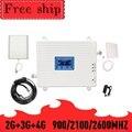 TFX-BOOSTER 900/2100/2600MHZ GSM WCDMA LTE Cellulare Ripetitore Del Segnale Del Telefono GSM 2G 3G 4G LTE 2600mhz Telefono Cellulare Ripetitore Del Ripetitore