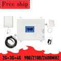 TFX-BOOSTER 900/2100/2600MHZ GSM WCDMA LTE Handy Signal Booster GSM 2G 3G 4G LTE 2600mhz Repeater Handy Booster