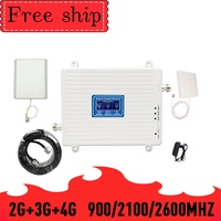 TFX BOOSTER 900/2100/2600MHZ GSM WCDMA LTE Cell Phone Signal Booster GSM 2G 3G 4G LTE 2600mhz Repeater Cell Phone Booster