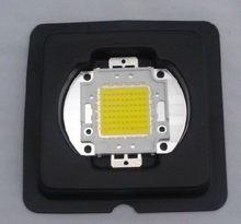 Frete Grátis 1x100 w Natural white LED Lamp Chip 4000-4500 k Ampola Brilhante de Alta Potência 100 w levou chip 45mil chip