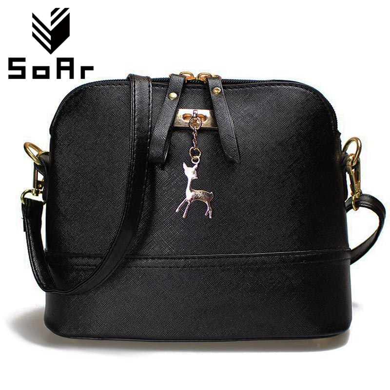 SoAr Shell bag crossbody bags women messenger bags designer handbags high quality small leather shoulder bag brand famous 5 bailar fashion women shoulder handbags messenger bags button rivets totes high quality pu leather crossbody famous brand bag