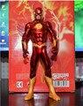 O homem flash action figure kid brinquedos The Avengers PVC coleção modelo brinquedos 18 cm