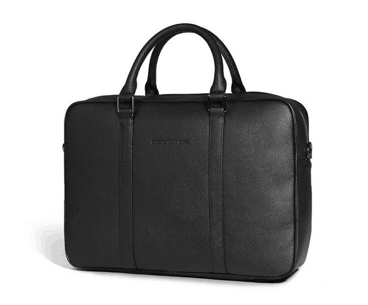 2019 New pele de vaca homens de negócios do escritório bolsa para laptop grande bolsa maleta
