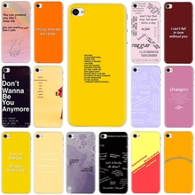 Get more info on the Song Lyrics Billie Eilish Aesthetic Hard phone cover case for iphone 5 5s 5C SE 6 6s 7 8 plus X XR XS 11 Pro Max