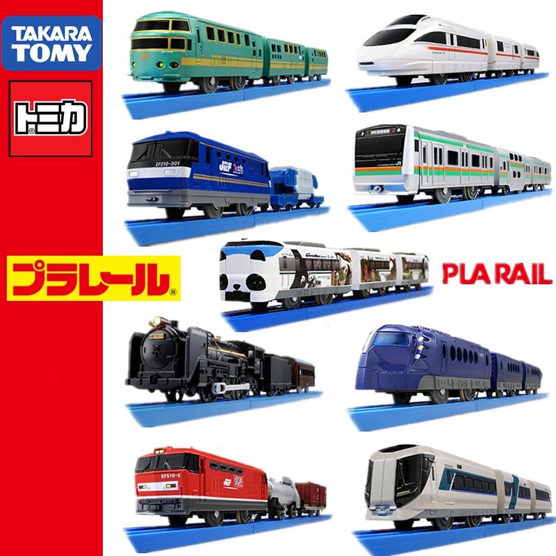 Набор моделей поезда Takara Tomy Tomica Plarail Trackmaster, игрушки для малышей «Железная дорога», популярные детские куклы, миниатюрный автомобиль