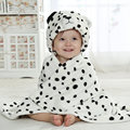 Nuevas Mantas de Bebé Tamaño 90*80 cm Cartoon Dálmatas Manta Caliente de Alta Calidad de Recepción Manta Para Recién Nacido 0-2 Años Unisex