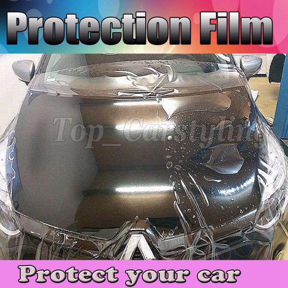 3 Layers Paint Protection Film Car Sticker Auto Repair PPF Transparent Car Paint Shield PROTWRAPS Size:1.52x15m/roll