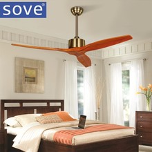 Modern Nordic 3 Wooden Blades Ceiling Fan With Remote Control Attic Without  Light Fan Dining Room Lamp Fan Ventilador De Teto