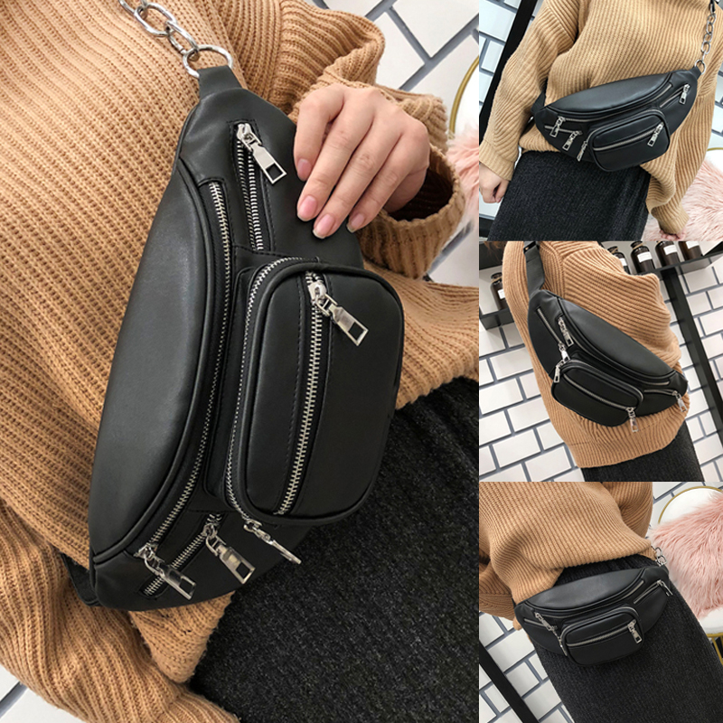 2019 Newest Hot Women Phone Purse PU Leather Envelope Small Shoulder Bag Crossbody Handbag Ladies Bag Waist Packs