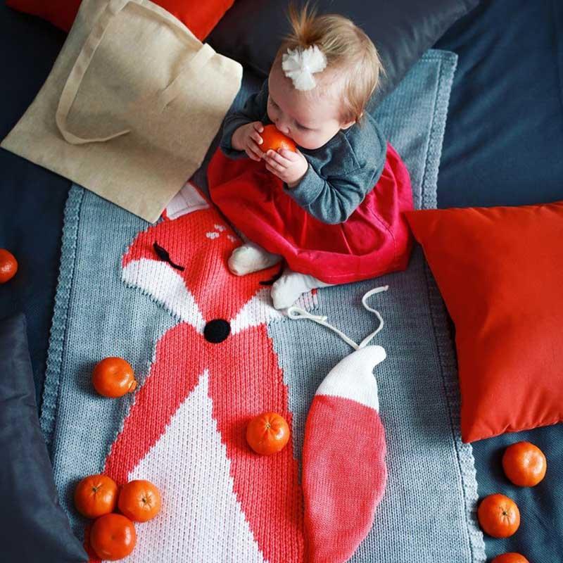 Knitting Blanket Baby (4)