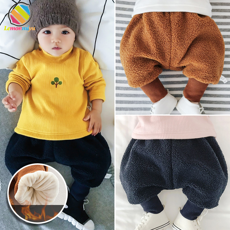 Lemonmiyu Full-Length-Pants Bottoms Casual-Trousers Newborn Baby Winter Fashion For Boys