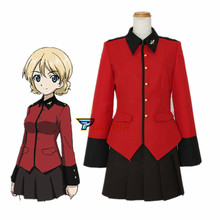 Anime Girls und Panzer Darjeeling Cosplay Costume