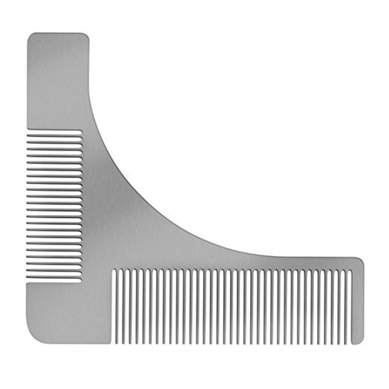 This is a photo of Bewitching Beard Shaping Template Printable