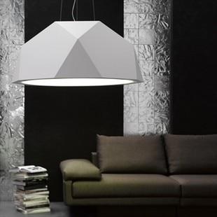 Fabian luxury diamond white/black 60cm pendant lamp bedroom sitting room ems free shipping FG394 карабин black diamond black diamond rocklock twistlock